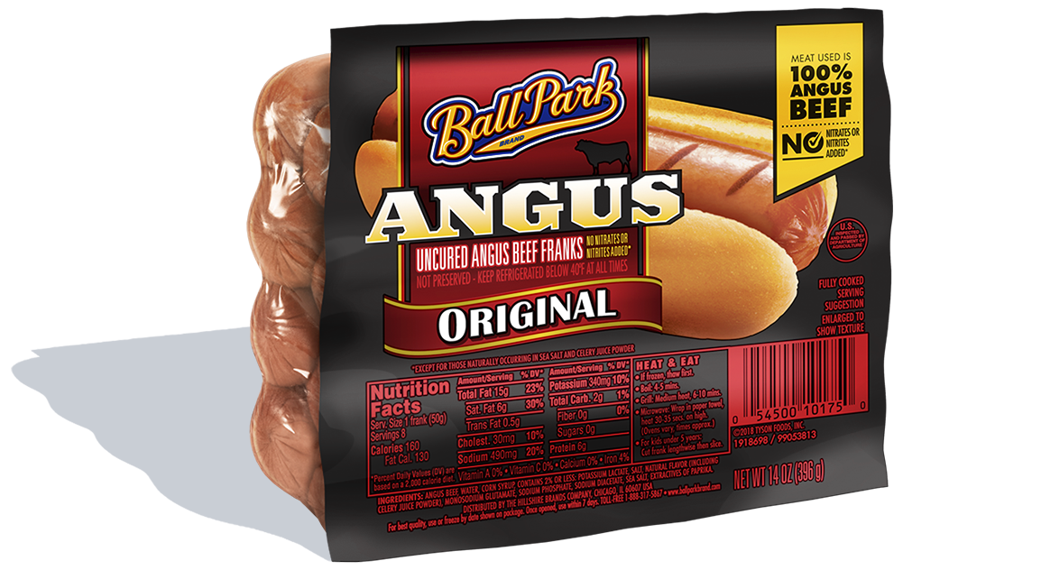 Ball Park Angus Beef Hot Dogs